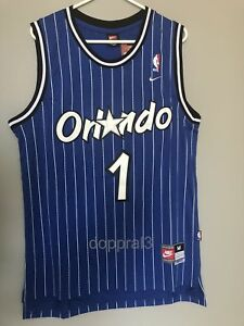 bf4c8b10 NWT Penny Hardaway #1 NBA Orlando Magic Swingman Throwback Jersey ...
