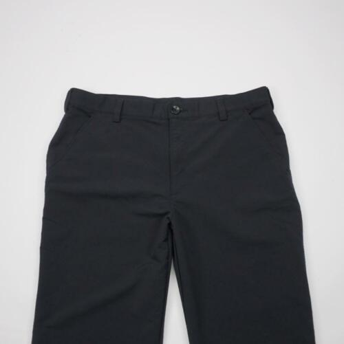 UNDER ARMOUR Flat Front Dress Golf Pants Black Men