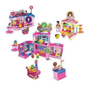 Shopkins Kinstructions 37459 Deluxe Shopville Set - Jouer 885561374599