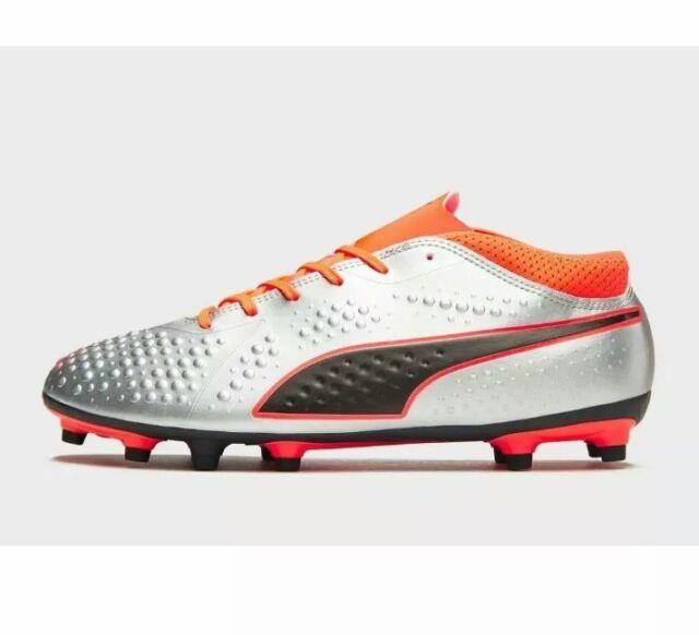 a960380dc36 PUMA Uprising One 4 FG Mens Sock Football BOOTS Size 10