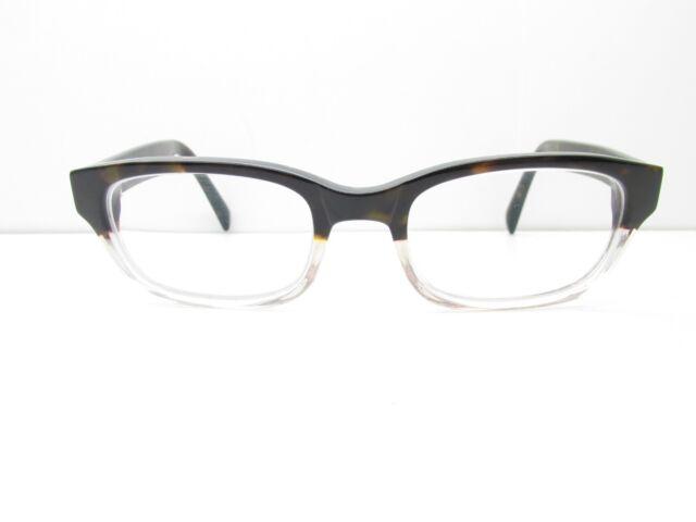 7a4efdf726 Warby Parker Zagg 203 Eyewear FRAMES 49-19-140 Tortoise Rectangle TV6 32960