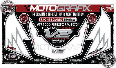 Honda VTR 1000 Firestorm VTR1000 97-04 Front Fairing Number Board Gel Protector