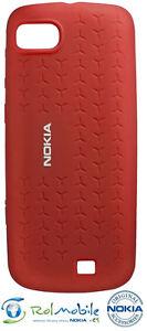 Funda-de-Silicona-Original-Nokia-CC-1014-para-Nokia-C3-01-Color-Rojo