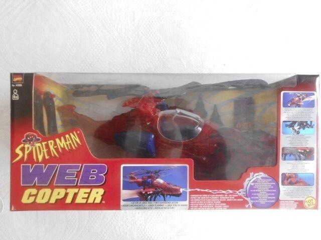 SPIDER MAN WEB COPTER  ACTION FIGURE   SPIDERMAN  BIZ TOY FONDO DI MAGAZZINO