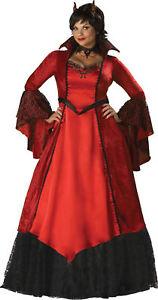 DEVIL-039-S-TEMPTRESS-Costume-XX-LARGE-Haloween-womens-devil-InCharacter-Costumes