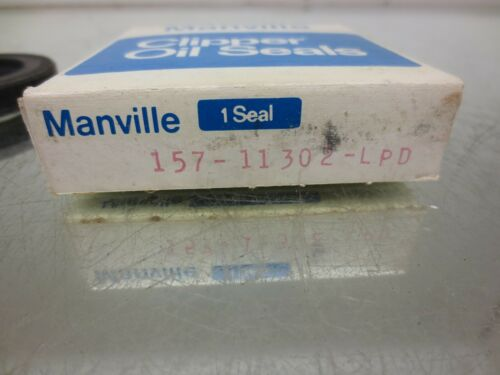 157-11302-LPD OIL SEAL 11302-LUP Details about  /MANVILLE