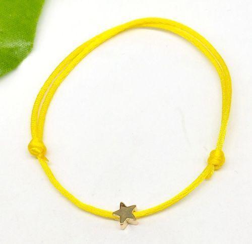 Free Ship 10pcs Rouge String STAR LUCKY Rouge Cordon Réglable Bracelet Nouveau