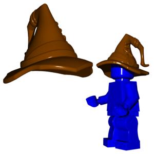 Personalizado Chapéu Assistente Para Lego Minifigures Castelo Harry Potter-escolha Sua Cor!