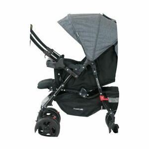 Steelcraft Accent Reverse Handle Stroller Chambray