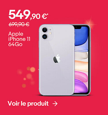 Apple iPhone 11 64Go - 549,90 €*