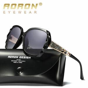 Ladies Womens Designer Polarized Sunglasses Oversized Driving Eyewear UV400 Lens