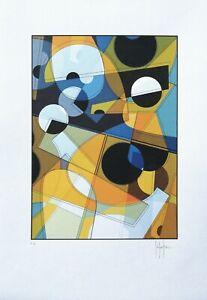 Grafica-astratta-geometrica-firmata-a-mano-prova-d-039-autore-Stefano-Fiore
