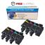 4-12PK Color Toner Cartridge Set for Dell E525w E525 Printer High Yield Toner
