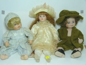 3 x Vintage Dolls: Jane Withers, Gustave Wolff, Heritage Mint ltd collection
