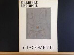 alberto giacometti derriere le miroir no 65 french edition