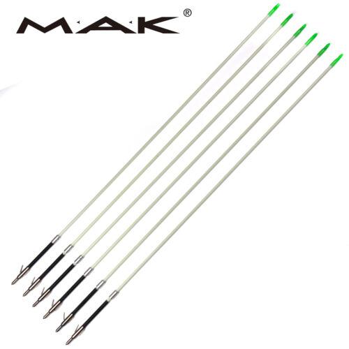 6pcs 84cm Bow Hunting Fishing Arrows Outdoor Shooting Archery Plastic Broadheads