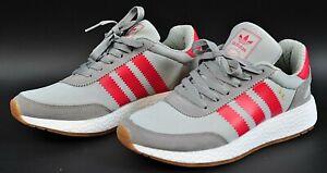 Details zu Adidas Originals Iniki Runner Sneaker Schuhe blau Gr 38 Schuh rote Streifen 10ES