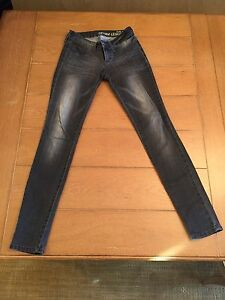 95bd2ed140b18 Image is loading Bullhead-Black-Denim-55-Legging-Pacsun-Stretchy-Skinny-