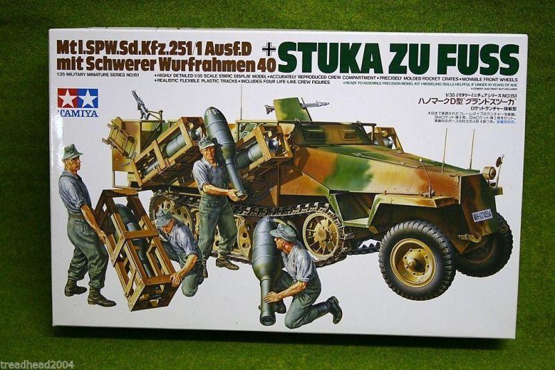 Tamiya STUKA ZU FUSS Sd.kzf.251 1 Ausf.D 1 35 Scale kit 35151