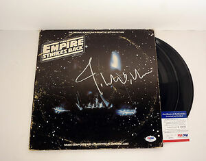 John Williams Signed Star Wars Empire Strikes Back Vinyl Record PSA/DNA COA