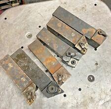 6pc 1 14 Metal Lathe Turning Tool Holder Lot Kennametal Trw Machinist Box Fin
