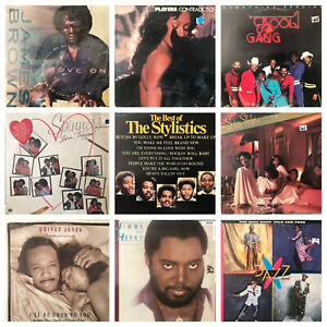 Lot-of-9-Soul-Funk-LP-Vinyl-Disco-Record-Collection-70s-to-80s-The-Stylistics