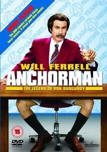 Anchorman The Legend Of Ron Bordeaux (2004) DVD Nuovo / Mai Suonato Will Ferrell