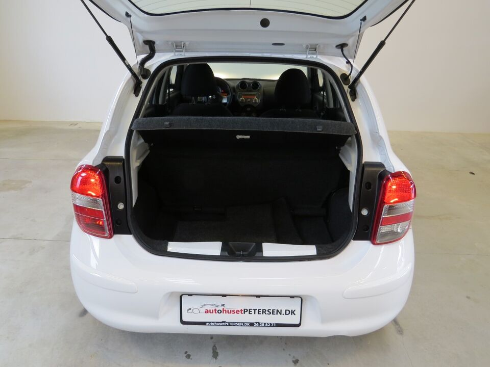 Nissan Micra 1,2 Visia City Benzin modelår 2013 km 99000
