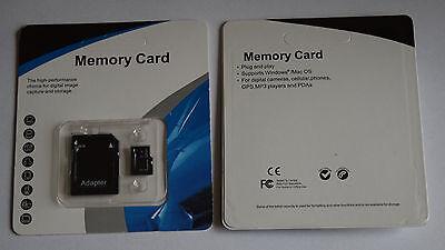 128GB Micro SD SDHC TF Flash Memory Card Class10 C10 SD Adapter