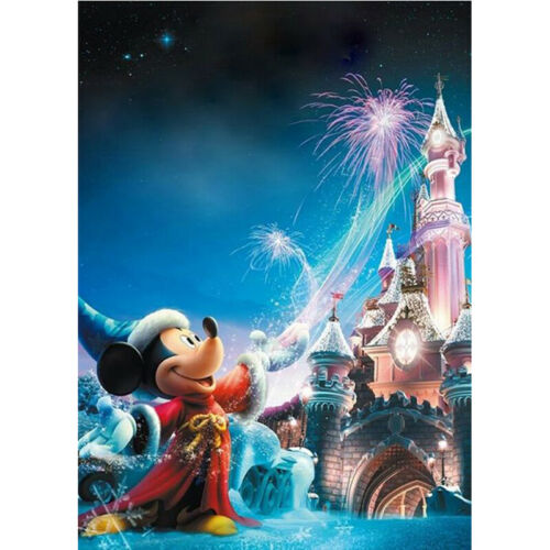 5D Diamond Painting by Number Kit Full Drill Cross Stitch Craft Mickey Turns Mag