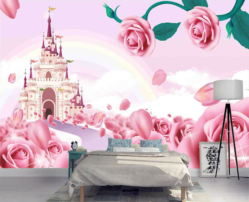 Blunt Upright Castle 3D Full Wall Mural Photo Wallpaper Wallpaper Wallpaper Printing Home Kids Decor 94ea9f