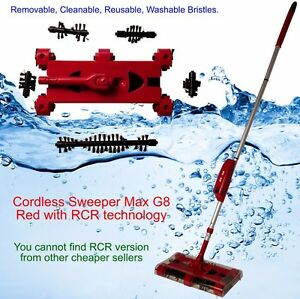 Cordless-Swivel-Sweeper-Max-Generation-8-RCR-tech-Remove-Clean-Reuse-Bristles