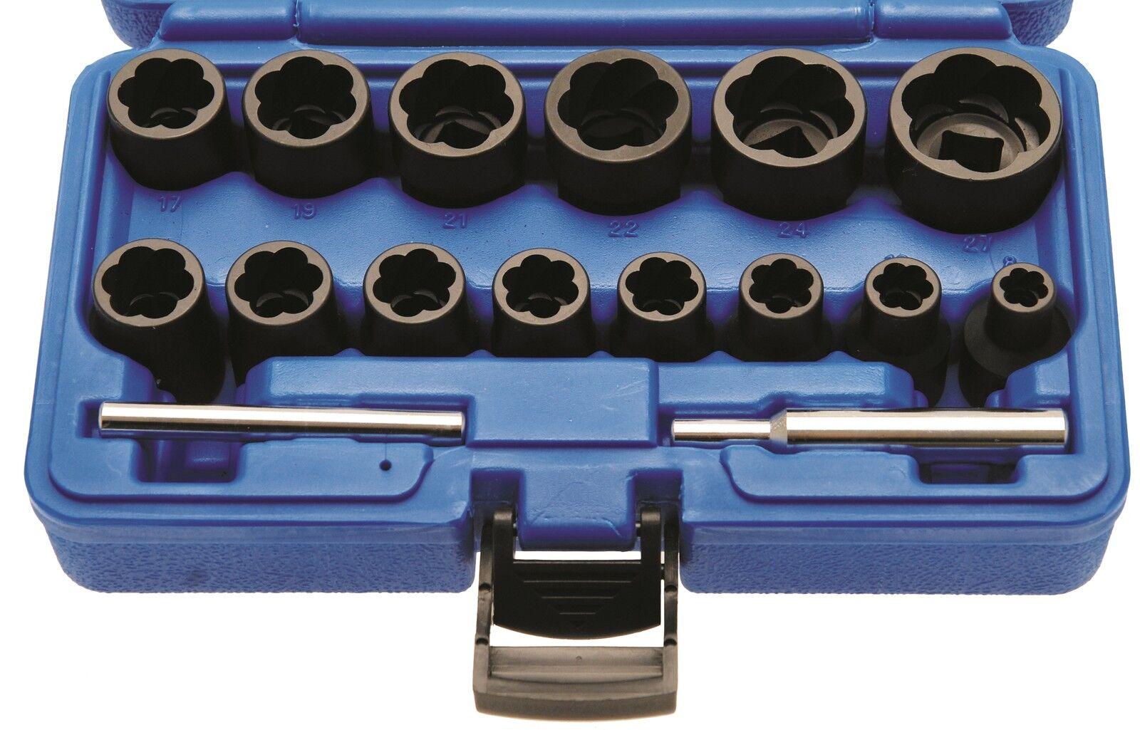 BGS  defekte abgedrehte Schrauben Muttern lösen 8-27 mm 11 tlg Löser Werkzeug