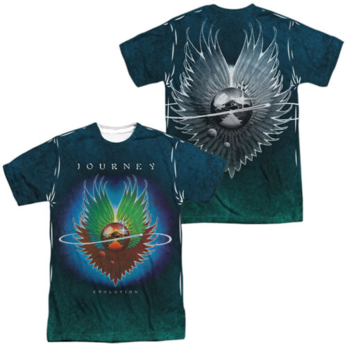 Journey Rock Band EVOLUTION Album Cover Art 2-Sided All Over Print Poly T-Shirt
