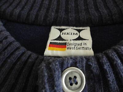 Vornehm Herren Pullover Gr.50/52 In Blau Vintage