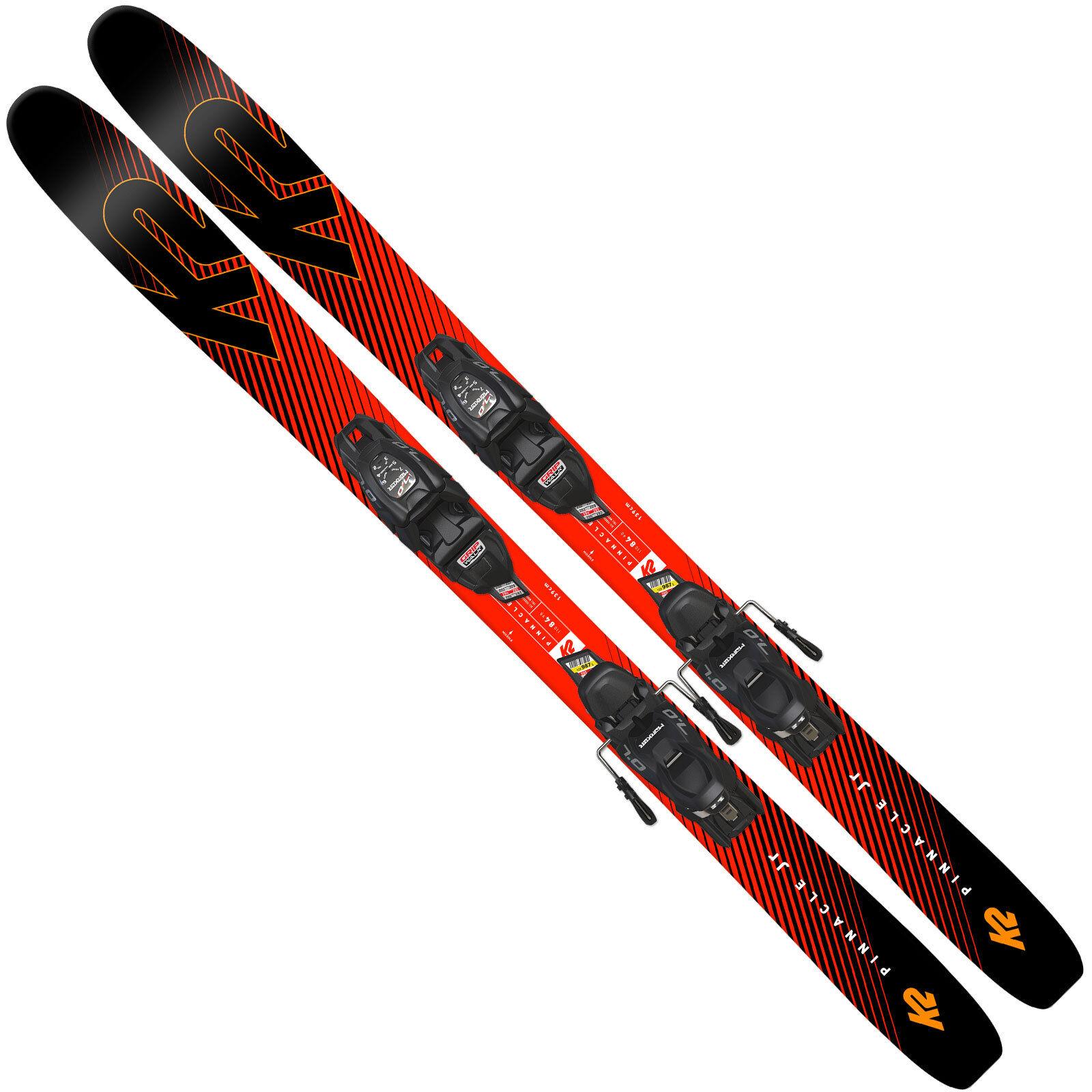 K2 Pinnacle Jr Esquís para Niños Incl. 4.5 7 de Fijación Juego de 7 Esquí Basculante 2438b8