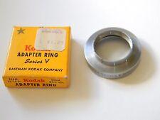 "Kodak Adapter Ring Series V  With Box- Diameter 15/16"" - Vintage"