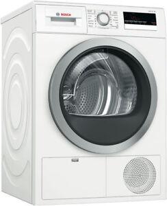 Bosch Serie 4 WTH85200AU White Heat Pump Dryer