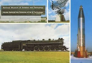 National-Museum-Of-Science-amp-Technology-Ottawa-ON-Ontario-Multiview-Postcard-D20