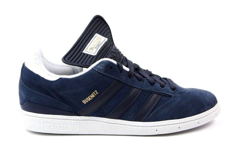 Adidas White BUSENITZ  Dark Indigo White Adidas Skateboarding G48058 (196) Men's Shoes 9f5ff3