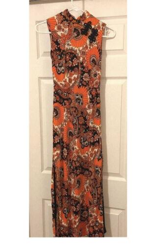 Pucci Inspired Mandarin Dress