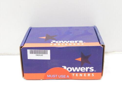 "7206SD 100 Powers Fasteners 1-3//4/"" x 1//4/"" Concrete Wedge-Bolt E12-1020"