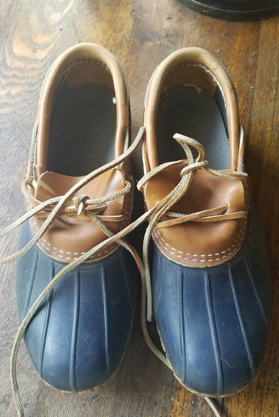 LL Bean boots bluee womens used size 8 very good