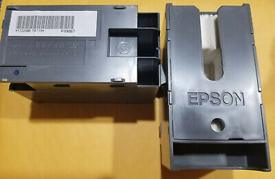 2X Genuine Epson T6715 Ink Maintenance Box (T67150), for