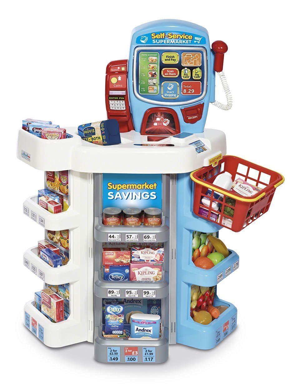 Casdon Selbst Service Supermarkt Kasse 75 Stück Stück Stück Jumbo Spielset Spielzeug 3+ 137e8d