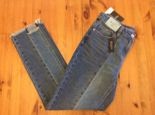 Size 6-16 Reg /& Long Women/'s Next Mid Rise Rigid Boyfit Raw Ankle Jeans BNWT