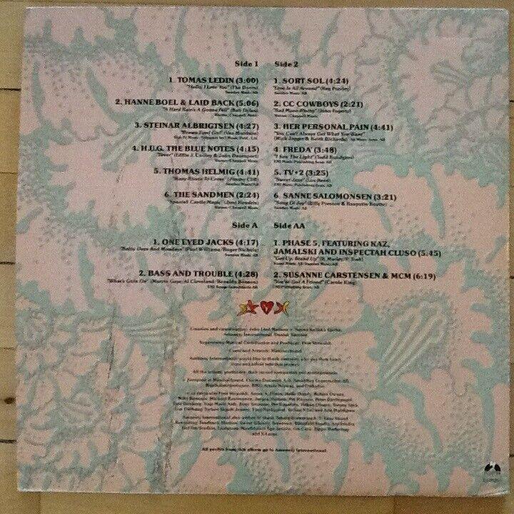 LP, Diverse kunstnere; Sort Sol, TV2
