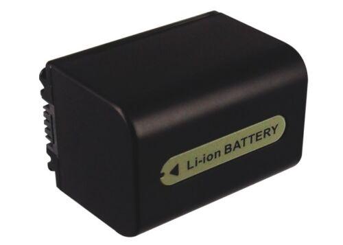 BATTERIA agli ioni di litio per SONY HDR-CX6EK DCR-HC41 DCR-DVD304E HDR-SR12 E HDR-HC3HK1 NUOVO