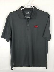 PING-Mens-XLarge-Arkansas-Razorbacks-Performance-Polo-Shirt-EUC