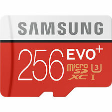 Samsung EVO Plus 256GB Micro SD Class 10 95MB/s Fast 4K Mobile Phone Memory Card